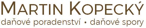 Martin Kopecký, daňový poradce